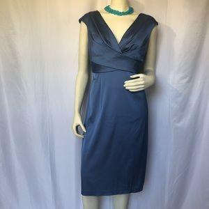 Blue Periwinkle 3/4 Length Dress